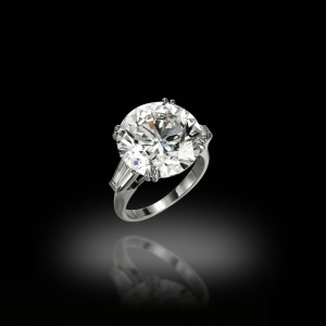 12 Carats Solitaire Ring