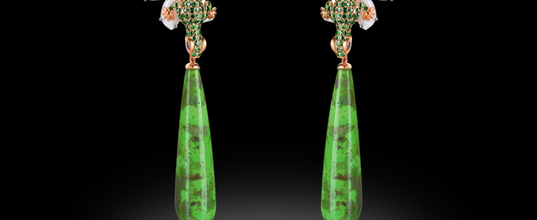 Buy Tsavorite Earring