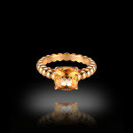 Imperial Topaz Ring